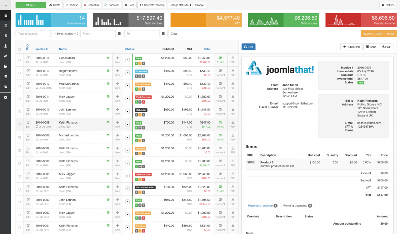 joomla-optimisation-workflow-integration-invoice-manager-rsform-acymailing